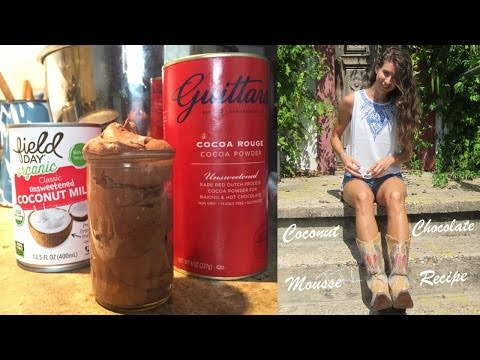 Coconut Chocolate Mousse Recipe