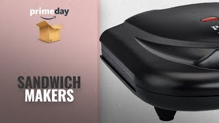 Sandwich Makers Prime Day 2018: Prestige PSMFB (800 Watt) Sandwich Toaster with Fixed Plates,Black
