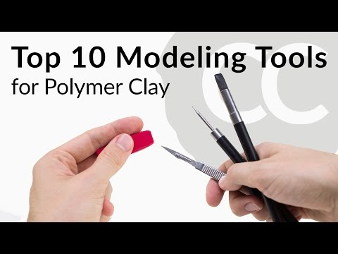 Top 10 Modeling Tools – for Polymer Clay