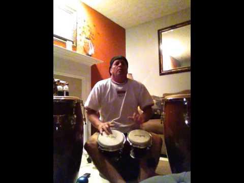 Jon Rix Playing The Bongos Santana