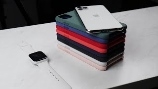 Apple iPhone 11 Pro & Pro Max Silicone Case Review - All Colors!