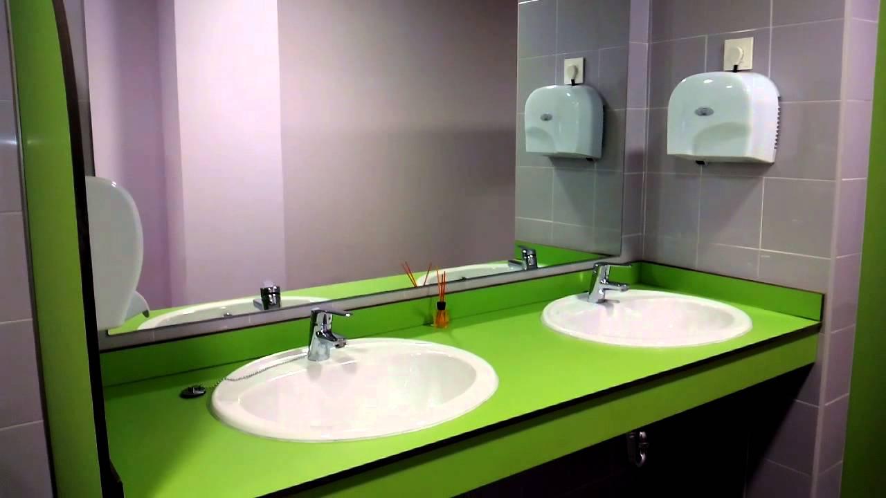 Limpieza de baños públicos - YouTube