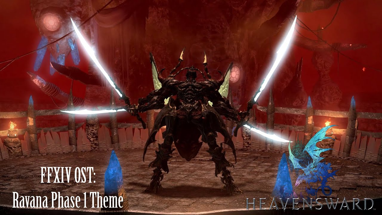 FFXIV OST Ravana Theme Phase 1 The Hand That Gives The Rose YouTube