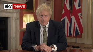 In full: PM Boris Johnson makes TV address announcing new England lockdown