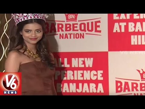 Events In City | Miss India World 2016 Priyadarshini Launches New Food Items | V6 News