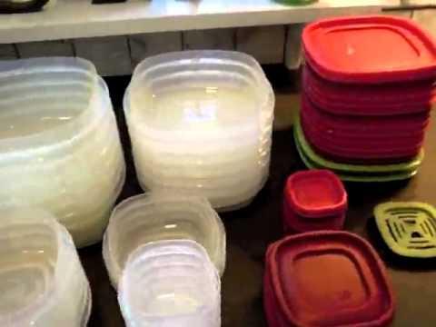Rubbermaid Easy Find Lid Food Storage Set Plastic 42 Piece Food