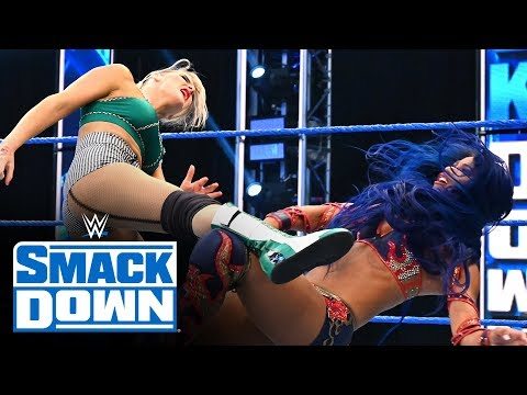 Lacey Evans vs. Sasha Banks – Money In The Bank Qualifying Match: SmackDown, April 24, 2020