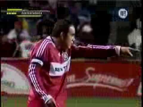 Contracronica Cuauhtémoc Blanco Con el Chicago Fire - MLS