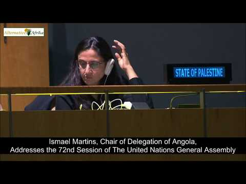 Angola - Chair of Delegation addresses the 72nd Session of the United Nations General Assembly