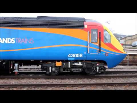 ECML Diversions at Lincoln - 28th February 2015