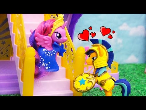 My Little Pony Toys & Dolls - Soldier Flash Sentry Falls in Love With Princess Twilight Sparkle
