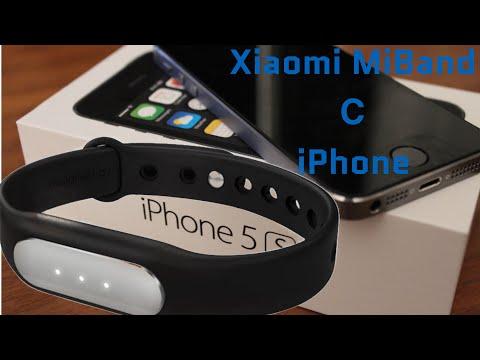 Обзор браслета Xiaomi Miband с IOS IPhone 5s