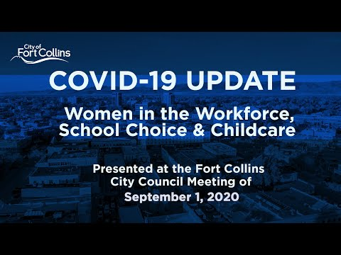 view COVID-19 Update - Women in the Workforce video