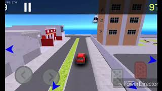 (Auto chase Br) fugindo da polícia