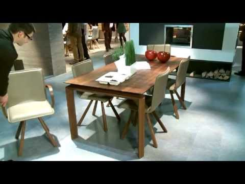 voglauer m bel voller leben auf der imm cologne 2013 youtube. Black Bedroom Furniture Sets. Home Design Ideas
