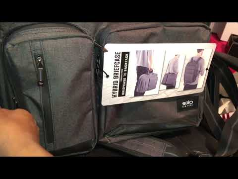 Solo New York Hybrid Briefcase Review Youtube