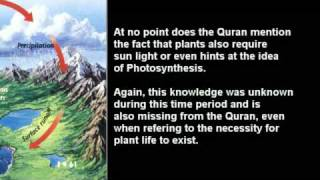 Quran Miracle Debunked: The Water Cycle.