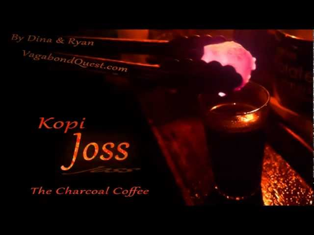 Charcoal Coffee from Indonesia (Kopi Joss) – Do you dare?