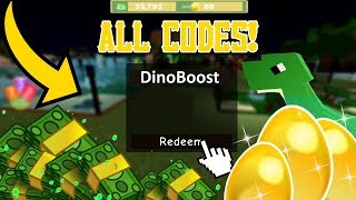 ALLE CODES IN DINOSAUR ZOO [ROBLOX]