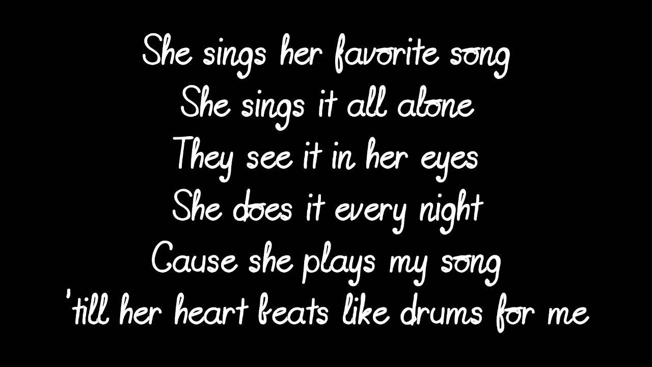lyrics song favorite