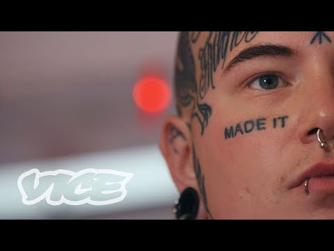 My Face Tattoos Are Not Scary