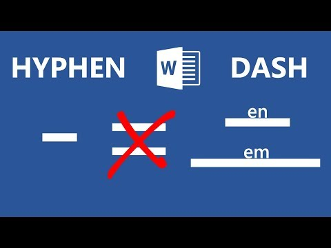 How To Stop Microsoft Word From Replacing Hyphens With Dashes