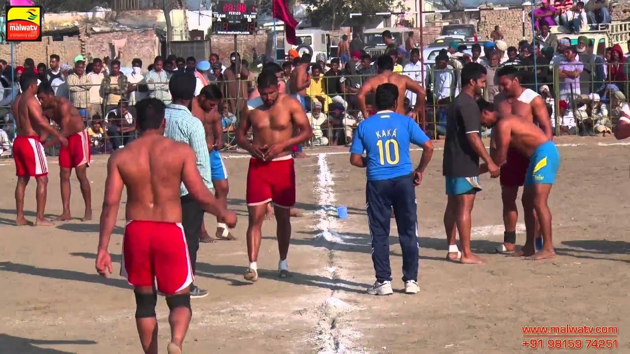 BUGHIPURA (Moga) Kabaddi Tournament - 2015 || 14th February || HD || Part 2nd.