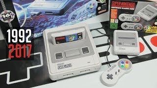 Doppel-Unboxing: SNES Mini (2017) & SNES (1992)