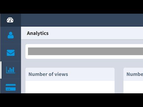 Responsive admin-dashboard menu layout