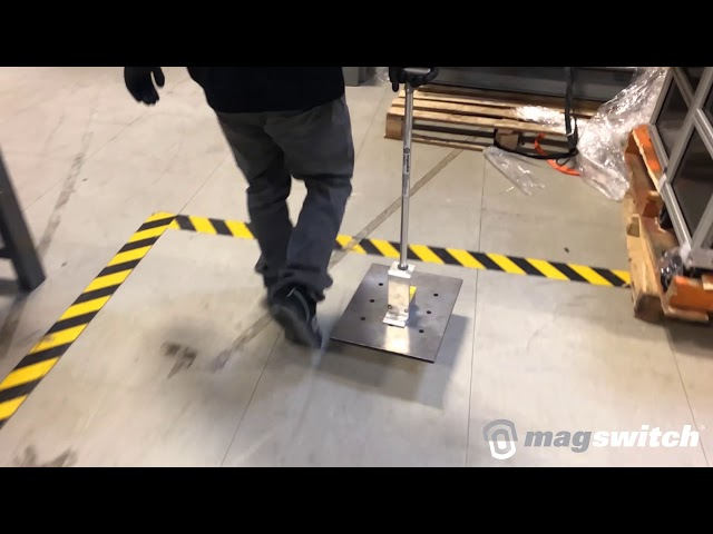 Extendalift 600 v akcii | Technológia Magswitch