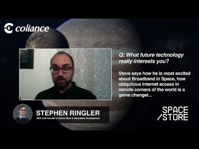 Coliance talk to Space Store - What future technology really interests you?