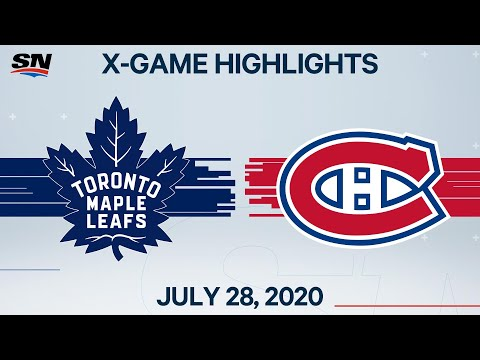 Nhl Highlights Maple Leafs Vs Canadiens Jul 28 2020 Youtube