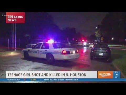 Teenage girl shot, killed in N. Houston