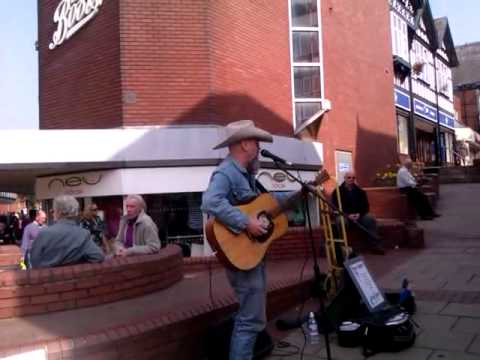 Memphis Pete Live in Northwich Town Centre