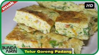 Video Resep Masakan Dadar Telur Goreng Khas Padang Gampang Dipraktekkan Recipes Indonesia Bunda Airin download MP3, 3GP, MP4, WEBM, AVI, FLV Maret 2018