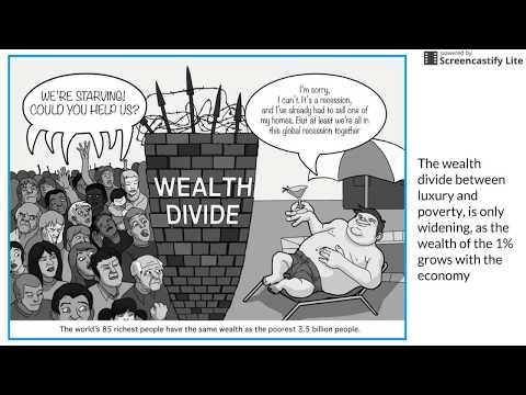 Economic Disparity Advocacy Speech