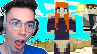 ZROBILIŚMY OGROMNY SKIN KATI W Minecraft! | Palion