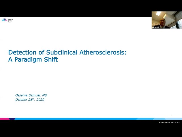Detection of Subclinical Atherosclerosis: a Paradigm Shift