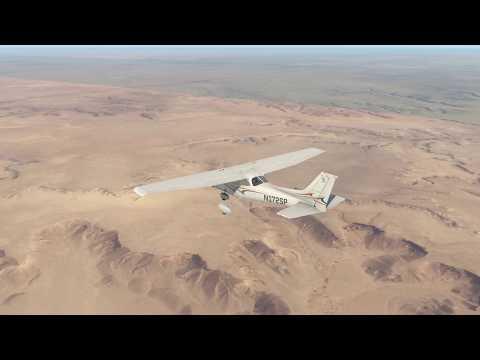 هجولة في مدينة الخرج بالطيارة   X Plane 11 Ortho4XP Al-Kharj