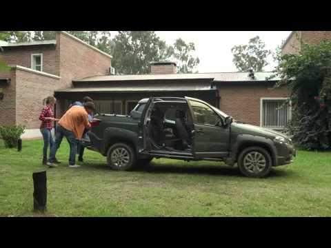 volkswagen saveiro cabina doble autoblog uruguay doovi. Black Bedroom Furniture Sets. Home Design Ideas