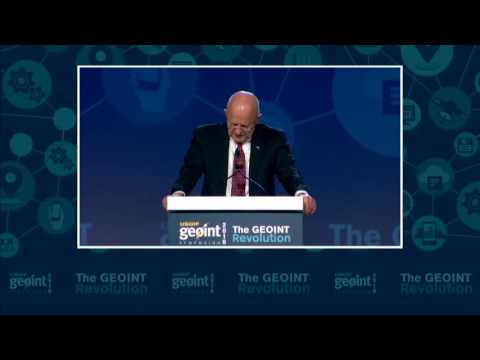 DNI James Clapper at GEOINT 2016