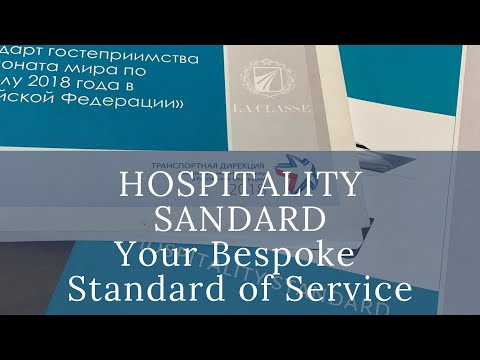 Hospitality Standard - Bespoke Corporate Culture of Your Service