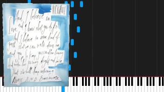 How to play Into My Arms by Nick Cave & The Bad Seeds on Piano Sheet Music