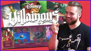 Destruction Of Disney - Game & Watch | Disney's Board Game Villainous W/ Matt, Bricky, Dameki & Donp