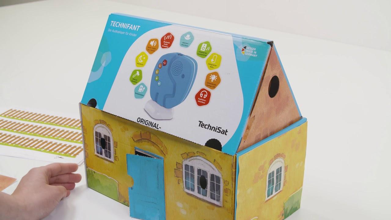 Video: TECHNIFANT Spielhaus basteln. So kinderleicht baut ihr es auf. | TechniSat