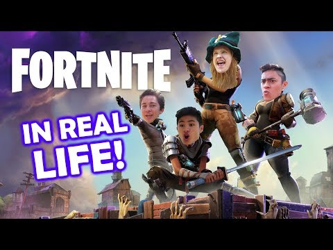 FORTNITE IN REAL LIFE  ⚒ (Ft. IBP)