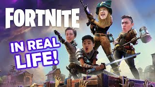 Fortnite In Real Life [Part 1] (Ft. IBP)