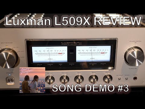 Luxman L509X Integrated HiFi Amplifier Review Song Demo #3 + Chord Qutest KEF Reference JPlay