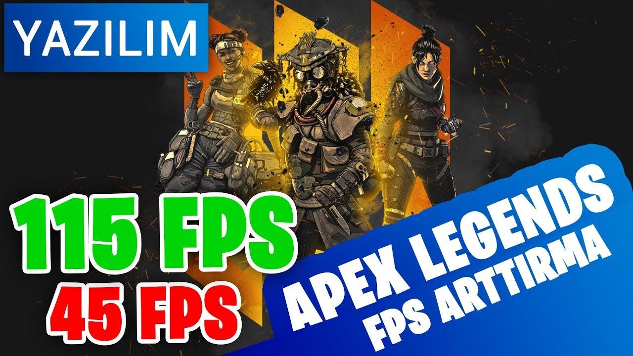 Apex Legends - FPS ARTTIRMA YENİ 2019 !!! ( Nvidia inspector ) FPS FİX