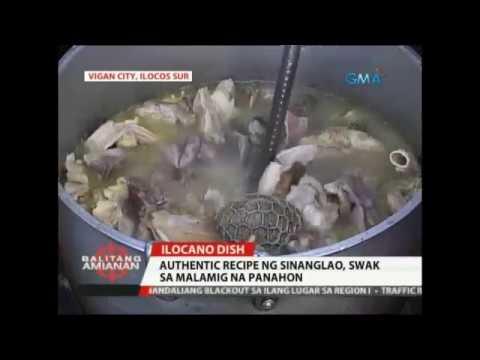 Balitang Amianan: Authentic Recipe Ng Sinanglao, Swak Sa Malamig Na Panahon